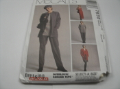 McCall's 7830 Sewing Pattern. New. Medium. Size (12,14). Overlock Serger Tips. 023795783033. 20 Pattern Pieces.