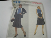 Vogue Designer Original 2546. Sewing Pattern. New. Gianni Versace. Size 12. Misses' Jacket, Skirt and Top.