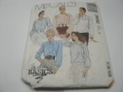 McCall's 3932 Sewing Pattern. New. Size 12. 023795393225. Fashion Basics. Misses' Blouse and Tie Bow.