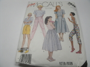 Easy McCall's 2926. Miss Size. New. Sewing Pattern. Medium. Tops are not included. 02379500550. Misses' Skirt, Pants and Shorts. 20 Patterns.