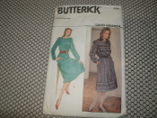 Butterick 4584 Sewing Pattern. All Sizes Included. David Warren. Misses' Dress. Already Cut.