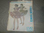 Authentic Patterns, Inc. 310. Square Dance Sewing Patterns. New. Multi Size. Includes Sizes: 12-14-16.