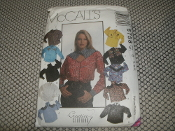 McCall's 6758 Sewing Pattern. New. 023795675826. Size: B. (8-10-12) Western Wear. Misses' Shirts. 20 Patterns.