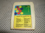 Country and Western Vol. 10. 8 Track Tape. Used. No. 294.