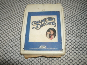 Coal Miner's Daughters. 8 Track Tape. MCAT-5107. Used. MCA Records. Original Motion Picture Soundtrack.