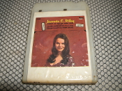 "Jeannie C. Riley. PLT-3. 8 Track Stereo Tape. Used. Things Go Better With Love. ""The Rib"". Gusto Records. PLT3."