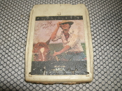 Jerry Jeff Walker. Ridin High. MCAT-2156. 8 Track Tape. MCA Records. 1975. Used.