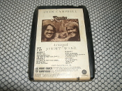 Glen Campbell. Reunion. 8XW 11336. 8 Track Tape. 3 3/4 IPS. Used. The Songs of Jimmy Webb. Capitol Records. 1974. 8XW11336.