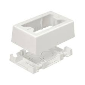 Panduit JBX3510IW-A Single Gang Junction Box. New. 074983353941. Ivory. 0 0074983 35394. QC# 01212182L. JBX3510IWA.