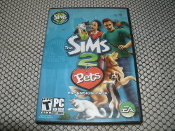 The Sims 2 Pets. Expansion Pack. EA. 014633152630. 0784541159. CD ROM.