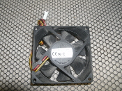 Delta DSB0812M Case Fan. Refurbished. DC Brushless. 7518W31R. DC12V, 0.14A, -WX14. 3 Wire.