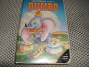 Dumbo. Walt Disney's Classic VHS Tape. Used. The Original Animated Classic. Rated: G. 63 Minutes. 012257024036. 1558900241.
