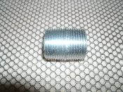 "Topaz 6452 Galvanized Steel Conduit Nipples. New. 25 Count. 1"" X Close. For NEC Installation on Listed Raceways. CAT. 2075133831360."