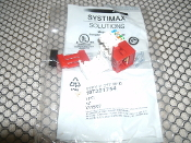 Systimax Solutions 107321754 CAT5 Connector. Red. New. M1BH-H-317.