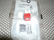 Lucent 107565780 CAT5 Connector. New. Red. MPS100BH1-317. 662742090828. LR85625.
