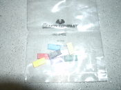 Siemon 100.2495 Clips. New. 8 Per Order. Assorted Colors. 20-10-00, 1015.