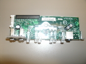 Dell MJ282 A00. USB Audio Control Panel Board. Dell Dimension 3100 E310. Refurbished. Working Pull.