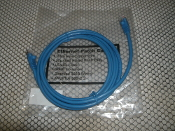 Ansi-TIA 799705637849 Ethernet Patch Cable. New. Copper Cable. Gold Plated RJ45 Plug. Stranded 568 Wiring. Booted 300 MHz. 7FT. CAT.5E. Conforms to Gigabit Ethernet.