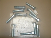 "Fastenal 110120383. 1/2""-13 X 2-1/4"" Grade 5 Zinc Finish Hex Cap Screw G5. 10 Count."