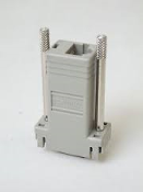 Cisco 74-0495-01 Terminal/Auxiliary/Console Port Adapter RJ45 to Serial 9 PIN Female. Grey.