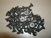 Fastenal Flat Head Hex Socket Screws. 620.000920. New. 50 Count. Black.