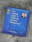 Carleton H. Sheets. The Painless Guide to Profitable Property Management. (6 Audio CDs and Guide). 971. Used. Investors Success Series Volume 1. The Professional Education Institute.