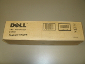 Dell Yellow Toner. K4974. New. 3000cn, 3100CN. OEM. CT200484. 884116000327. *0484*, 697E. 10030.