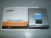 Vonage Cisco PAP2 Phone Adapter for Vonage Internet Phone Service. New. Opened Box But Never Installed. No Power Cord.
