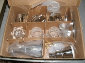 Price Pfister 01-118 Three Handle Tub & Shower Faucet. Chrome. New. No Brass Valve. See Picture. 038877400203