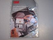 3M Model: 814 Self-adhesive Media Pockets For 3.5""