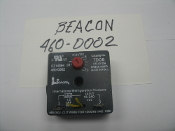 Beacon TDOB Delay on Break Timer. 460-0002. Used. E314894. .03 to 10 Minutes. International Refrigeration Products. Load 1.5 AMP MAX. Imput: 18-240.