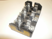 Cooper Bussmann T60060-3SR Buss Class T Fuse Block. Used. 051712149853. Working Pull.
