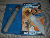 Pedi Paws. The Incredible Pet Nail Trimmer, New. As Seen On TV. UPC: 097298021169.