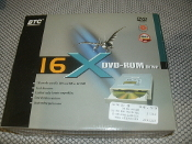 BTC Internal 16X DVD-ROM Drive. UPC: 753622070042. EAN: 4710836935044. Model: BDV-316C. BDV316C. New in Retail Box. 16X transfer speed for DVD and 48X for CD-ROM. Quick data access. BDV-316C.