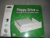 "Belkin Floppy Drive Kit. F5U099 F5U 099. UPC: 722868431429. New in retail box. Adapts to fit into 3 1/2"" or 5 1.4"" Drive Bays. Installs with Plug and Play ease."