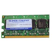 Super-Talent T533EB1G/E DDR 1GB 533Mhz PC2-4200 Desktop Memory. Refurbished. Pulled from a working server.