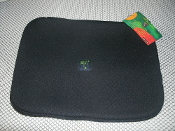 Laptop Neoprene Pouch. Black with a zipper. 26410, CSS26410. UPC: 794192264103
