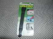 "Velcro Brand 91083 Straps Utility Ties. Black. New in retail package. 075967910839. 8 Straps per package. Quick and easy to use. Reusable. Adjustable. 5 7/8"" X 1/2"". P/N: 91083."