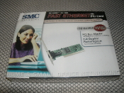 SMC EZ Card 10/100 Fast Ethernet PCI Card. Model SMC1244TX-1, UPC: 662698705881