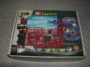 PC TV Capture 7130 TV Tuner PCI Card with remote. T02 HYW 20070209062. Model: 7130