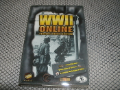 WWII Online PC Game with Manual and Europe Map. online game, on line game, UPC: 627006901072