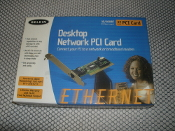 Belkin Desktop Network PCI Card. 10/100. 32bt NIC Card. Model: F5D5000. 284641 Plug and Play. UPC: 722868383810.