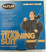 Altus Fitness Thermal Training Sauna Suit. New. L/XL. 1211 011L/XL. 011726025994.
