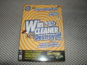 Ultra WinCleaner Destroy-It Standard Edition.Drag N Click file distruction. Drive zapper. Password protected.