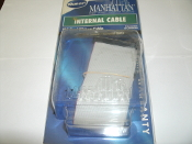 "Manhattan 360524 IDE Dual Ribbon Cable. 36"" (90cm). Model: 360524. UPC: 76623360524"