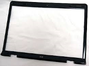 HP Pavilion DV9000 Front LCD Bezel Cover with Web Cam Hole. Single lamp. 447997-001 or 432955-001. Cosmetically the cover is in very good condition with only minor marks.