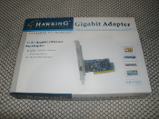 Hawking HGA32T Gigabit PCI Adapter 10/100/1000. 32-Bit, Gigabet, PCI, adapter.