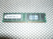 Compaq 237122-004 256MB PC2100 DDR 266 MHz 184-PIN CL2 Unbuffered. SDRAM DIMM. Refurbished. MT8VDDT3264AG-256B1. PC2100U-2533-A0.