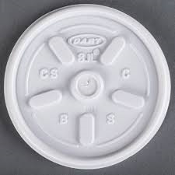 Dart Solo 8JL Vented Lids. New. 1000 Lids. 8OZ Hot and Cold Foam Cups. DCC8JL.