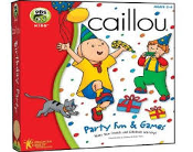 Caillou Party Fun and Games. 4 Party Themes. 8 Activities. 3 Skill Levels. Printable Creations. Clickable Animations. Fun Caillou Songs.